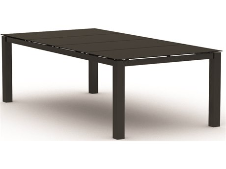Homecrest Mode Aluminum 88 x 44 Rectangular Cafe Table