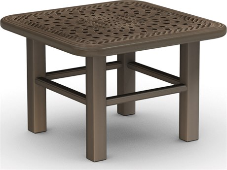Homecrest Camden Cast Aluminum 24 Square End Table