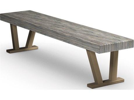 Homecrest Atlas Aluminum 70 x 15 Rectangular Bench