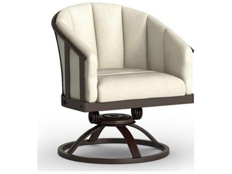 Homecrest Liberty Aluminum Swivel Rocker Barrel Chair