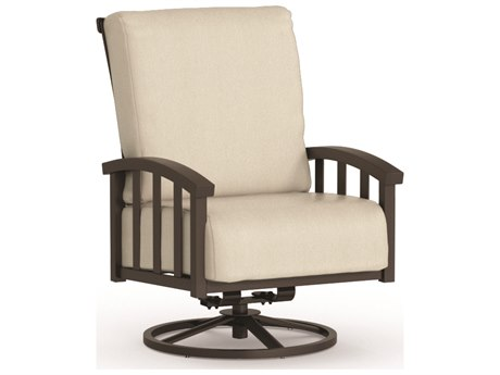 Homecrest Liberty Aluminum Swivel Rocker Chat Chair