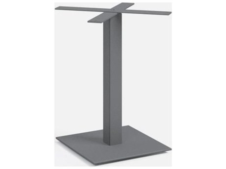 Homecrest Pedestal Aluminum Cafe Table Base