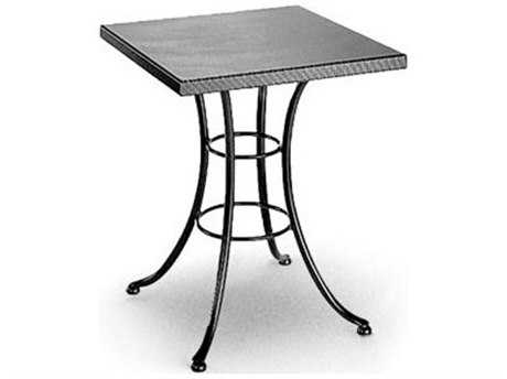 Homecrest Embossed Aluminum 24 Square Bistro Table