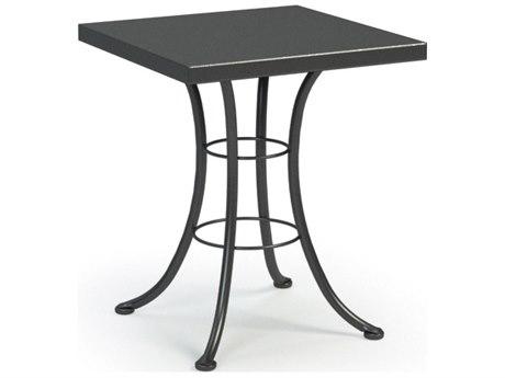 Homecrest Embossed Aluminum 24 Square Bistro Table HC19203