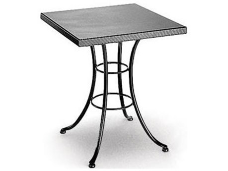 Homecrest Embossed Aluminum 30 Square Bistro Table