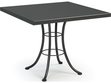 Homecrest Embossed Aluminum 36 Square Bistro Table