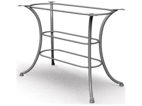 Homecrest Classic Steel 44 x 26 Rectangular Cafe Table Base