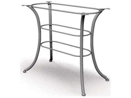 Homecrest Classic Steel 26 x 44 Rectangular Counter Table Base