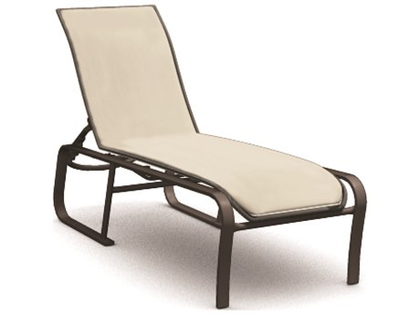 Homecrest Kashton Sling Aluminum Side Adjustable Chaise Lounge