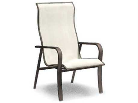 Homecrest Kashton Sling Aluminum Arm Dining Chair