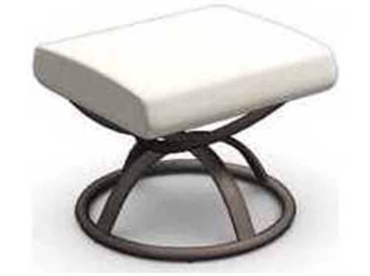 Homecrest Holly Hill Cushion Aluminum Ottoman