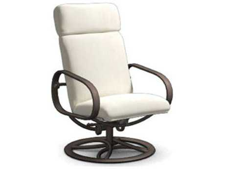 Homecrest Holly Hill Cushion Aluminum Reclining Swivel Rocker