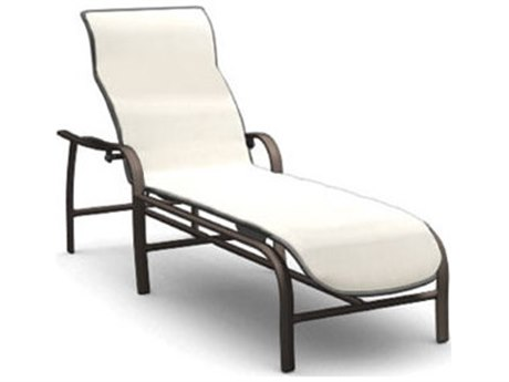 Homecrest Holly Hill Sling Aluminum Arm Adjustable Chaise