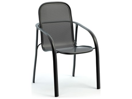 Homecrest Florida Mesh Aluminum Arm Stackable Dining Chair Replacement Cushions