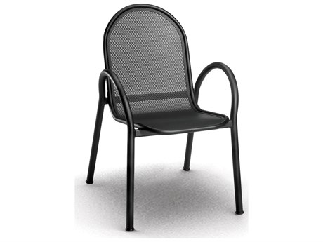 Homecrest Passport Aluminum Arm Stackable Dining Chair