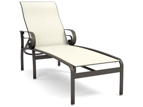 Homecrest Emory Sling Aluminum Adjustable Chaise Lounge