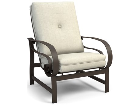 Homecrest Emory Cushion Aluminum High Back Chat Chair