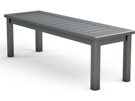 Homecrest Dockside Aluminum 50''W x 16D Bench