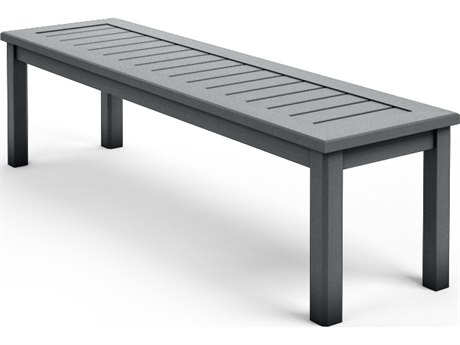Homecrest Dockside Aluminum 59.5''W x 16''D Bench