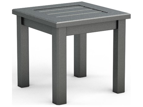 Homecrest Dockside Aluminum 17 Square End Table