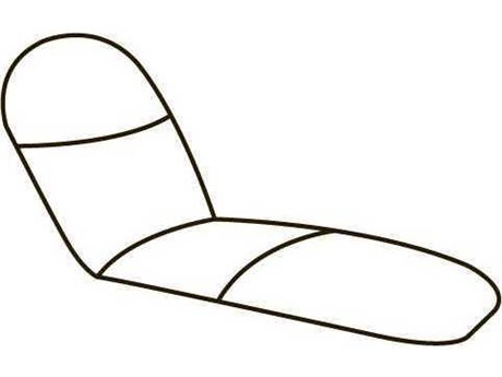 Homecrest Biscayne Replacement Self-Adjusting Chaise Cushions