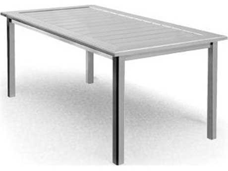 Homecrest Aluminum 32 x 64 Rectangular Dining Table