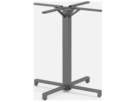 Homecrest Universal Aluminum 42-48'' Bar Pedestal Table Base