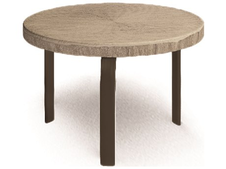Homecrest Slate 24 Round End Table