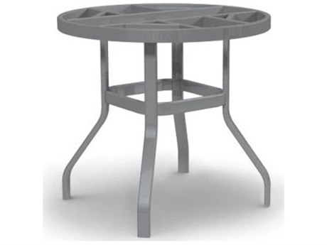 Homecrest Universal 34 Aluminum Balcony Table Base Height