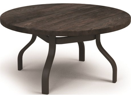 Homecrest Timber Aluminum 42 Round Chat Table HC3742RCTMNU