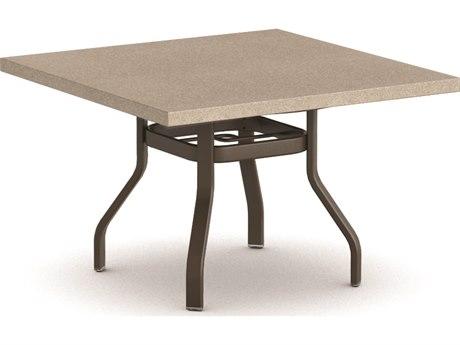 Homecrest Stonegate Aluminum 42 Square Dining Table HC3742SDSGNU