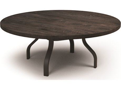 Homecrest Timber Aluminum 54 Round Chat Table HC3754RCTMNU