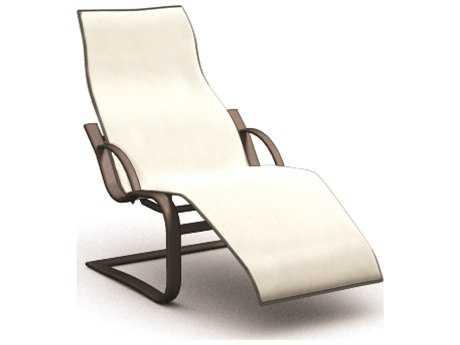 Homecrest Lana Sling Aluminum Spring Base Chaise