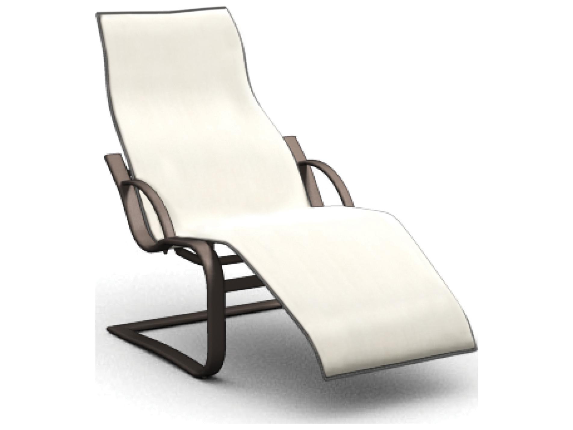 Homecrest Lana Sling Aluminum Spring Base Chaise 44500