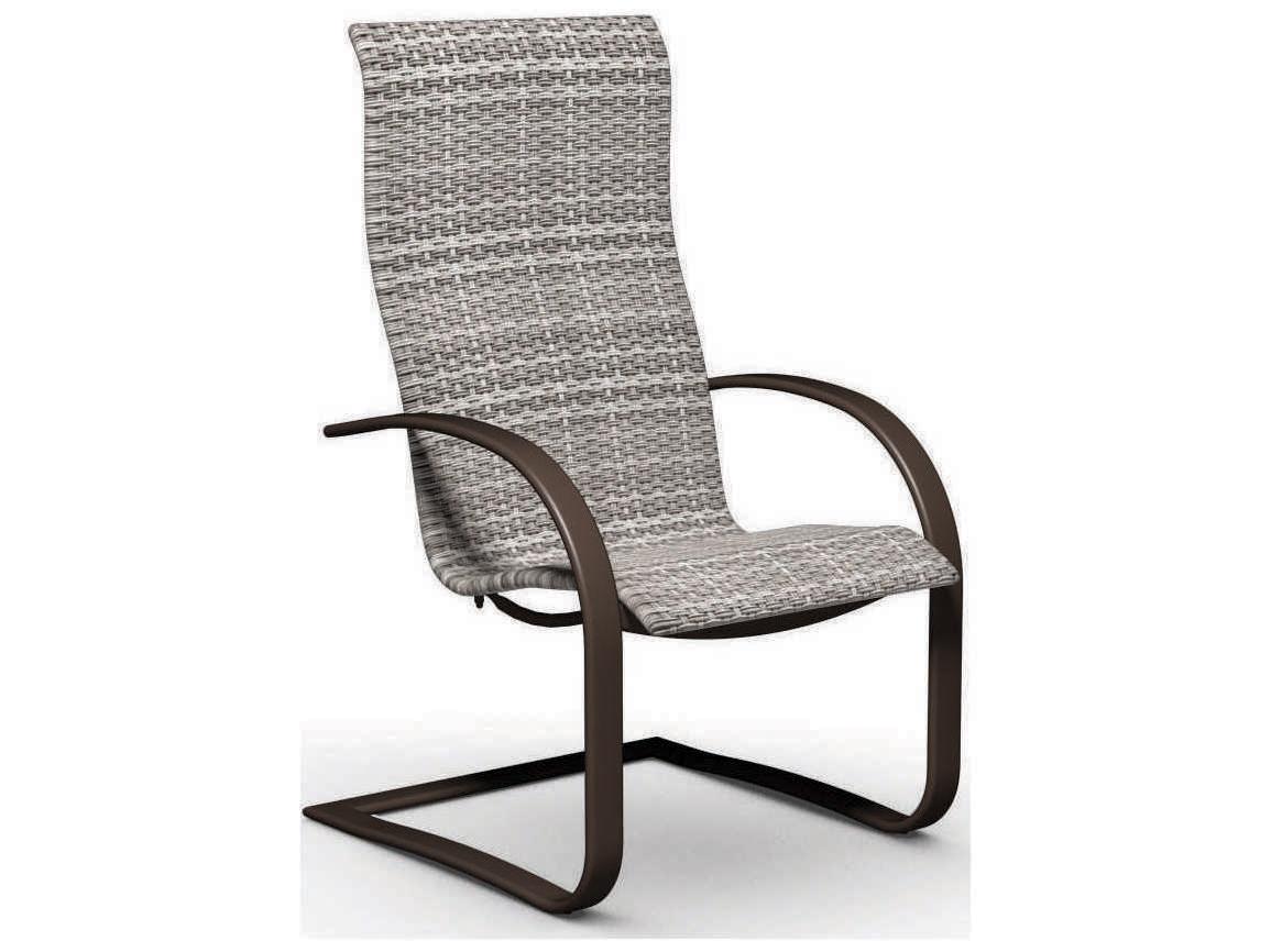 Homecrest Lana Sling Aluminum Spring Base Dining Chair