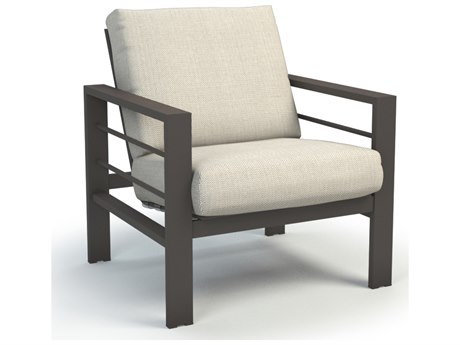 Homecrest Sutton Cushion Aluminum Low Back Chat Chair