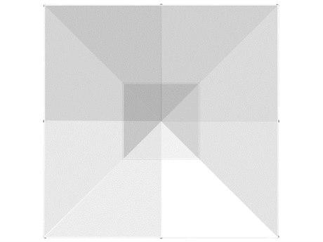 Homecrest Armbor Aluminum 6.5' Square Pulley Lift Umbrella