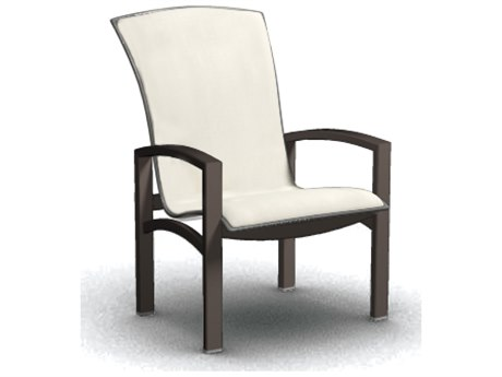 Homecrest Havenhill Sling Aluminum Arm Dining Chair