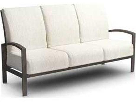 Homecrest Havenhill Cushion Aluminum Sofa PatioLiving