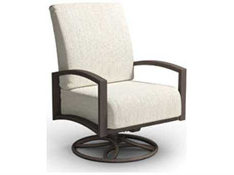 Homecrest Havenhill Cushion Aluminum Swivel Rocker Chat Chair