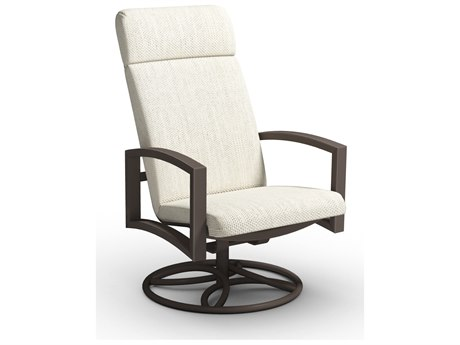 Homecrest Havenhill Cushion Aluminum High Back Swivel Rocker