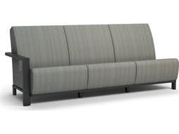 Elements Air Aluminum Sensation Sling Right Arm Sofa