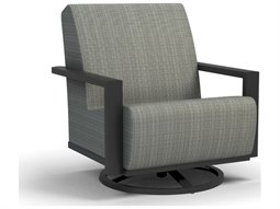 Elements Air Aluminum Swivel Rocker Chat Chair