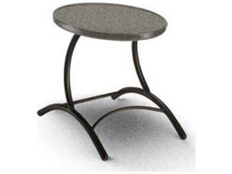 Homecrest Cirque Aluminum 19.5 Round End Table