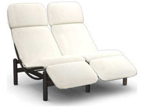Homecrest Cirque Aluminum Cushion Side Lounge Chair