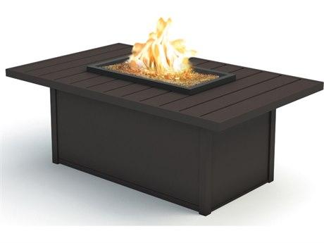 Homecrest Breeze Aluminum 52 x 32 Rectangular Coffee Fire Pit