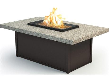 Homecrest Stonegate 52 x 32 Rectangular Coffee Fire Pit Table HC893252XLSG