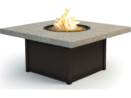 Homecrest Stonegate 42 Square Coffee Fire Pit Table HC8942SLSG