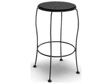 Homecrest Espresso Steel Side Bar Stool