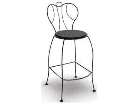 Homecrest Espresso Steel Bar Height Chair Replacement Cushion